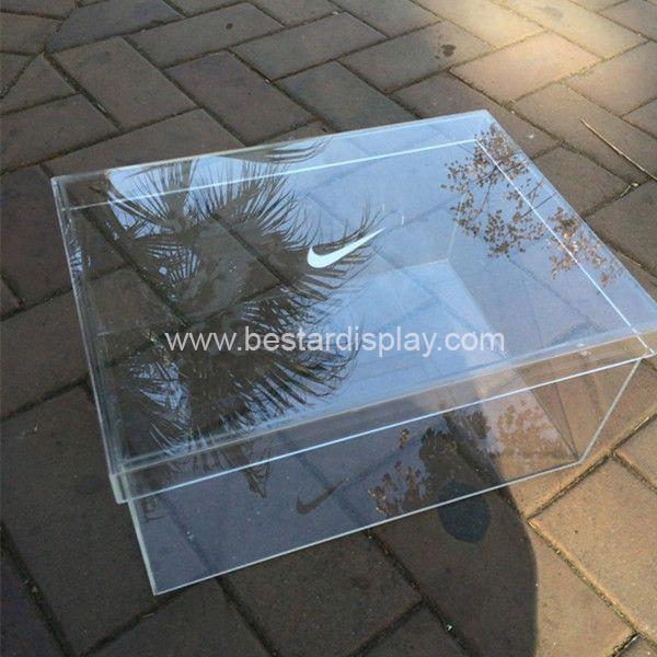 transparent acrylic nike shoe box