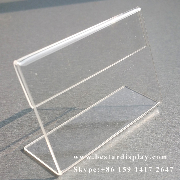 Custom Made Plexiglass PMMA Acrylic Table Tent - Acrylic table tent holders